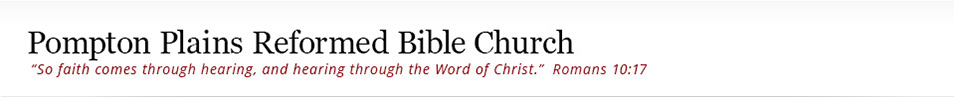 Pompton Plains Reformed Bible Church Logo