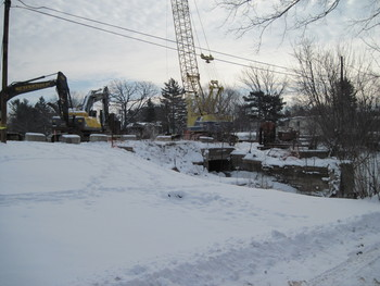 Removal of mill race