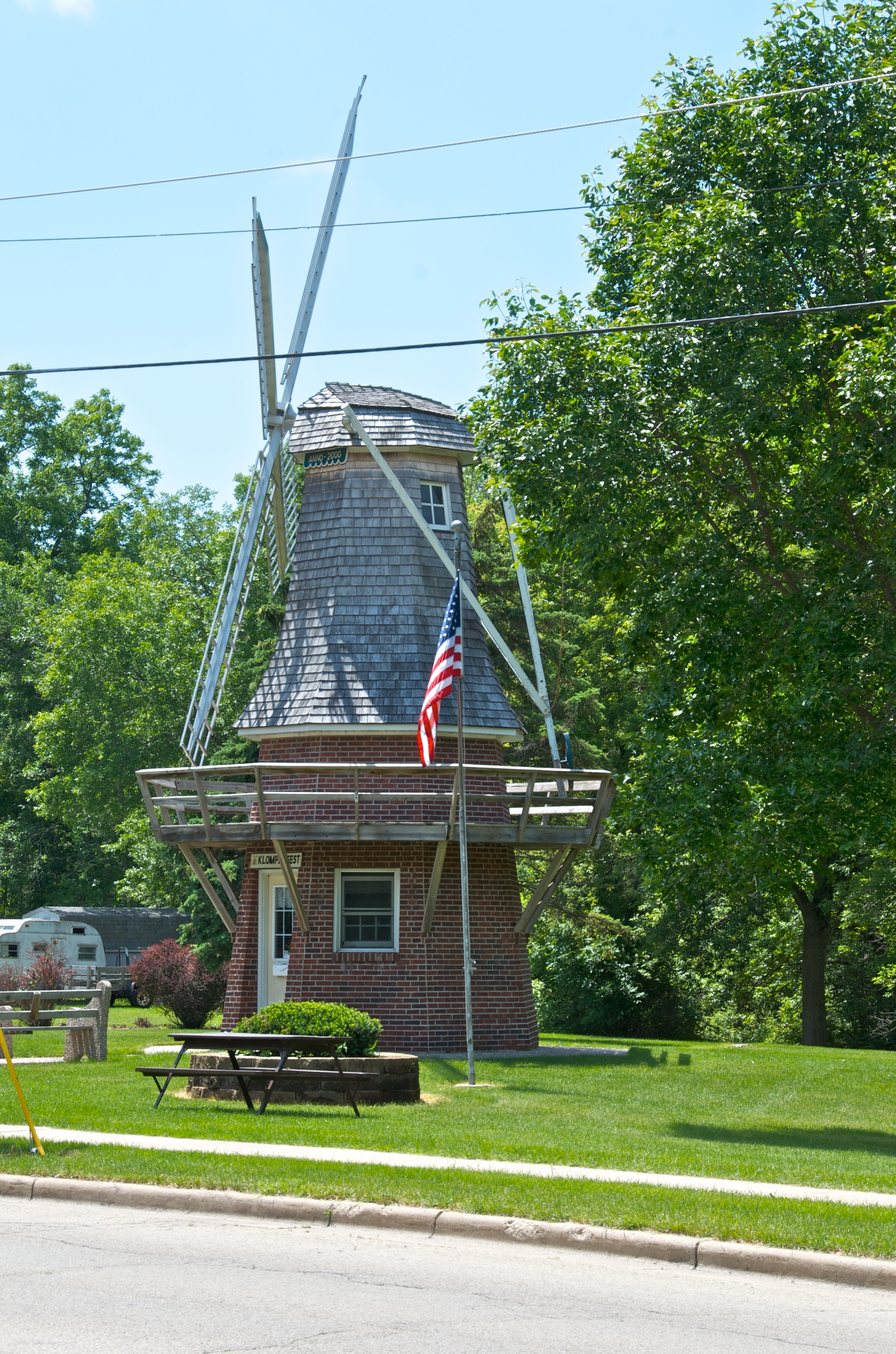 Windmill at Heritage Park (Photo by LaMont Page)